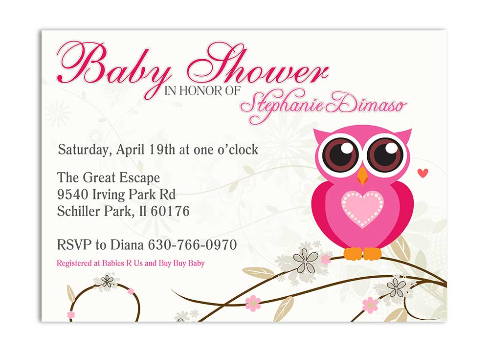 Shower Invitations Archives - Page 2 of 2 - Odd Lot Paperie