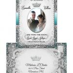 Vintage Fairytale Save the Date Postcard with Photo