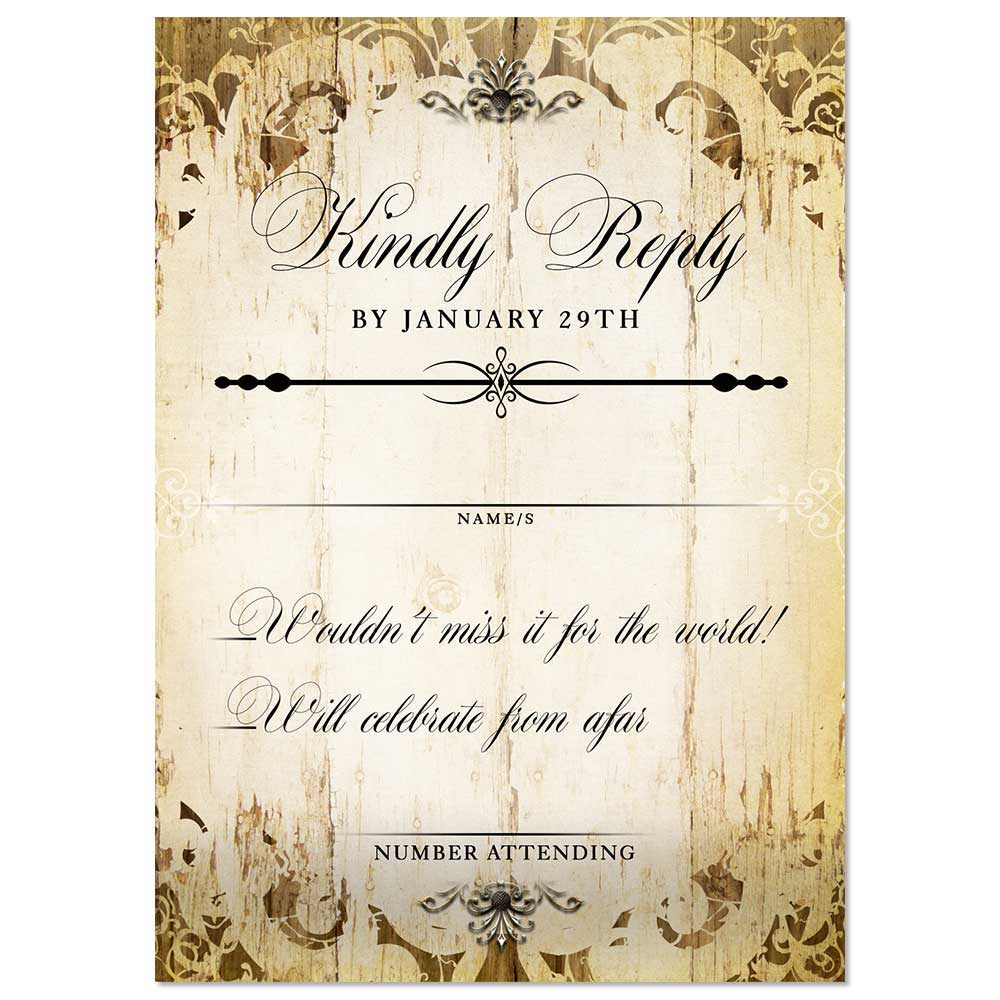 RSVP Cards Archives - Odd Lot Paperie