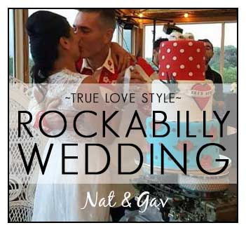 Nat and Gav's Rockabilly Destination Wedding