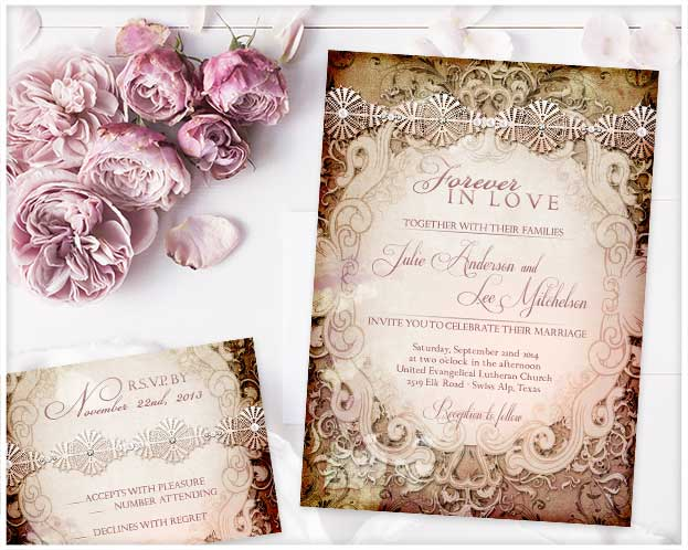 Storybook Wedding Invitation: Vintage Storybook Wedding Invitation That Never Go Out Of