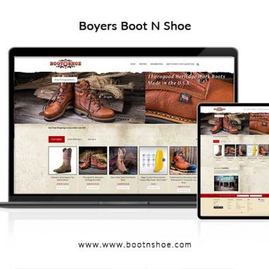 Boyers Boot N Shoe Website