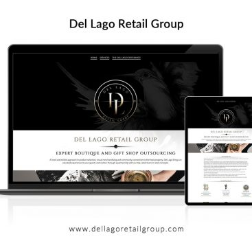 Del Lago Retail Group Website Design