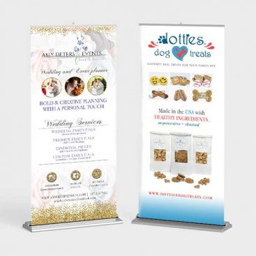 Amy Deters Events And Dotties Dog Treats Banners