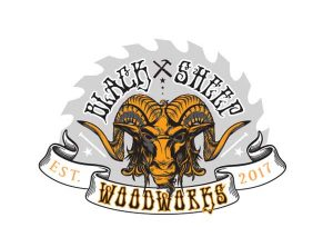 Black-Sheep-Woodworks-Logo-Design