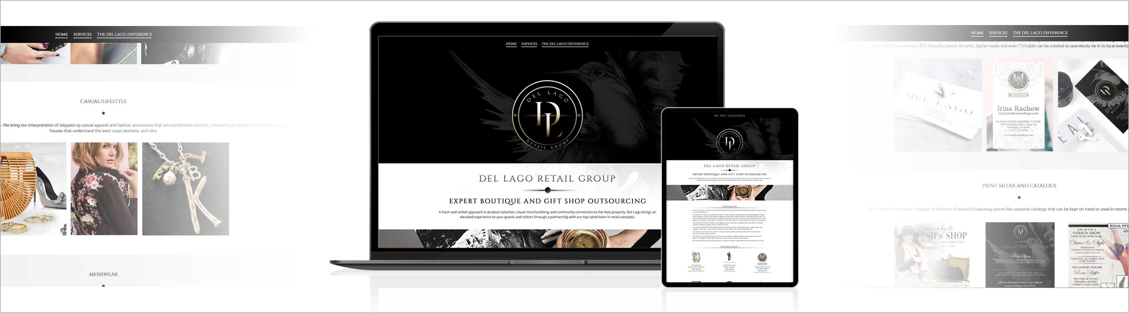 Del-Lago-Retail-Group-Website-Design