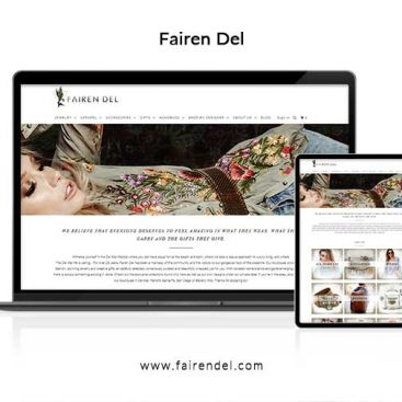 Fairen Del Website Design
