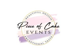 Piece-of-Cake-Events-Logo-Design