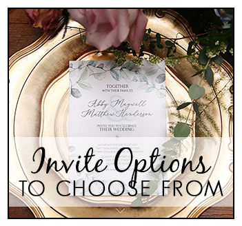 Professionally Printed Invitations or Digital Invitations