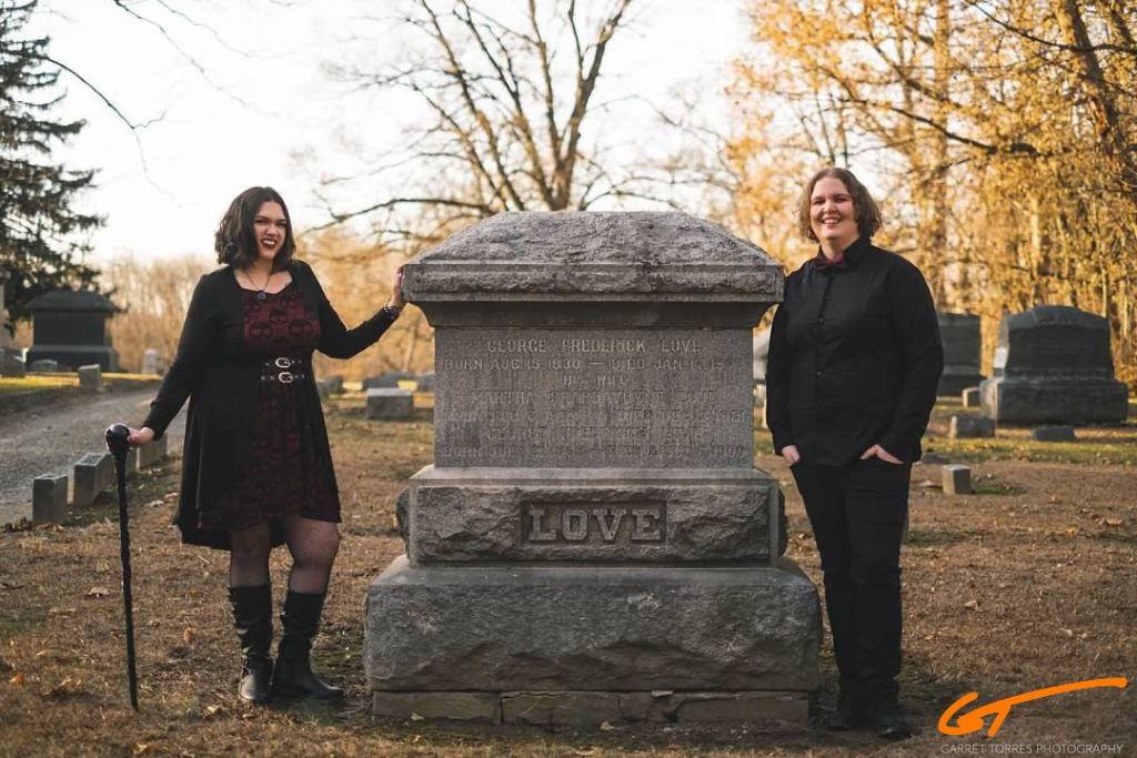 Gravestone Engagement Photos
